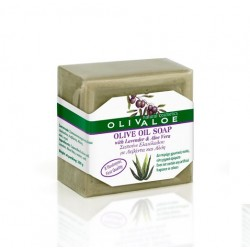 Handmade Traditional Olive Oil Soap with Aloe Vera & Lavender