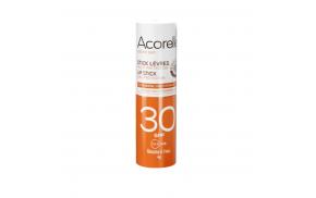 Acorelle sunscreen organic lipstick SPF30