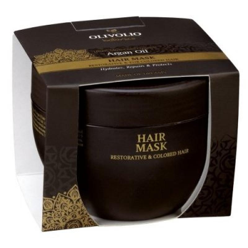 Argan Oil Hair Mask For Restorative Colored Hair Natural
