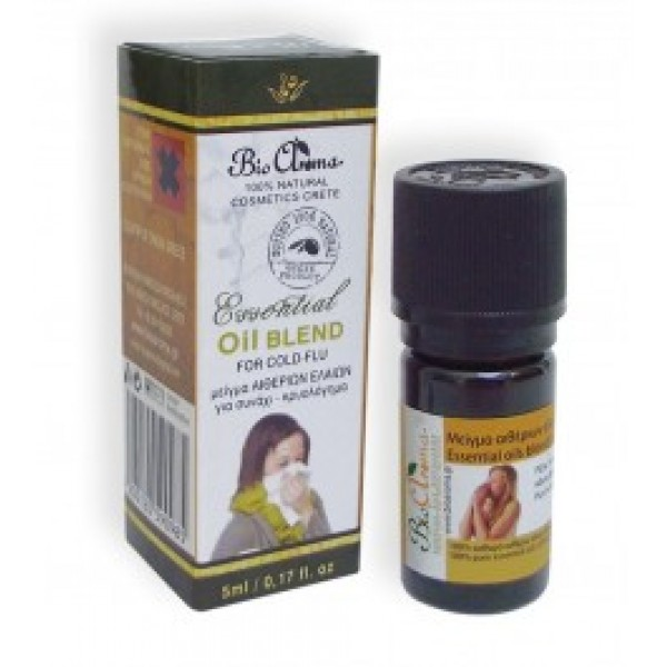 Bioaroma Essentials Oils Blend for Cold -  Natural - Organic Cosmetics  Essential Oils - Beauty Products