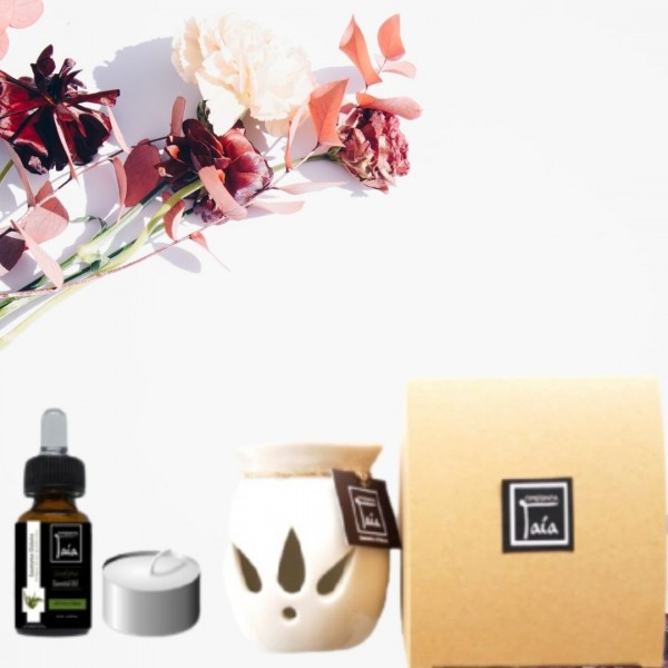 Gift Box Eukalyptus Essential Oil -  Natural - Organic  Cosmetics Essential Oils - Beauty Products