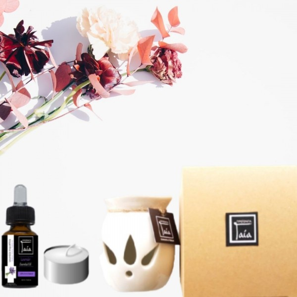 Gift Box Lavender Essential Oil - Natural - Organic  Cosmetics - Beauty Products