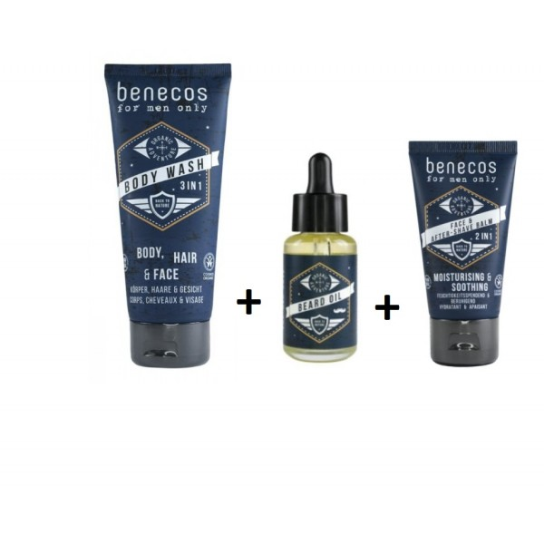 Gift Idea-Body & Face Care for Men - Natural - Organic  Cosmetics - Offers-Sales