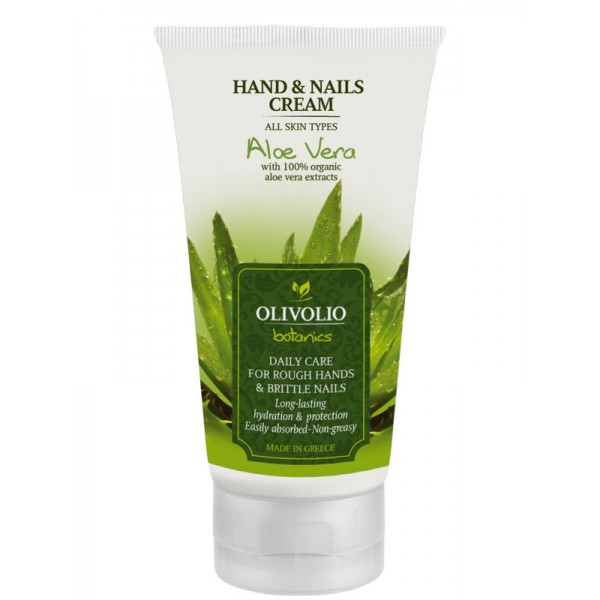 Aloe Vera Hand & Nails Cream - Natural - Organic Cosmetics Hand care - Beauty Products