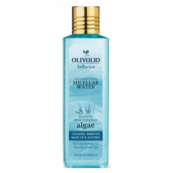 Olivolio Mediterranean Algae Anti-Pollution Micellar Water - Natural - Organic Face Cleaning Cosmetics - Beauty Products