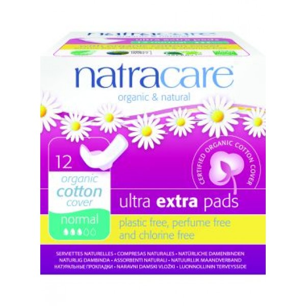 Natracare Ultra Sanitary towels for normal flow - Natural - Organic  Cosmetics Personal Health Care Sanitary Towels  -  Beauty Products