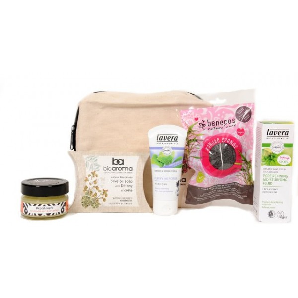 Gift Idea-Integrated Anti-Acne Treatment -  Natural - Organic  Cosmetics - Offers-Sales