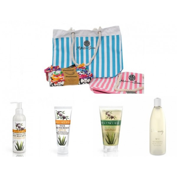 Sunscreen Gift Idea No6 - Natural - Organic  Cosmetics Sunscreen Sets - Beauty Products