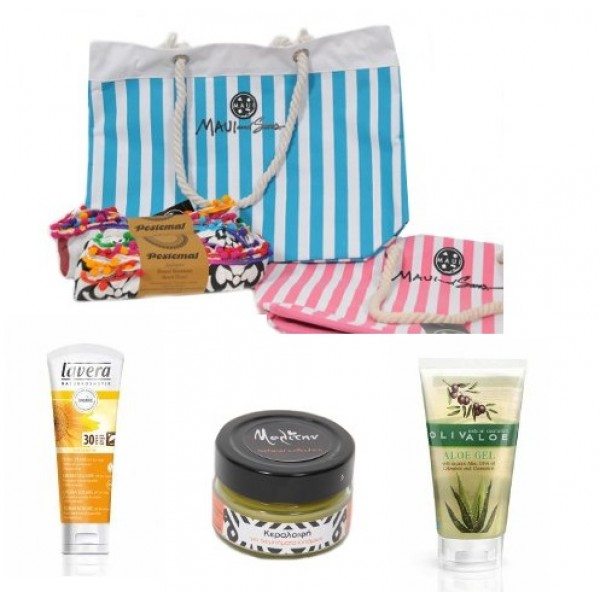 Sunscreen Gift Idea No5  -  Natural - Organic  Cosmetics Sunscreen Sets - Beauty Products