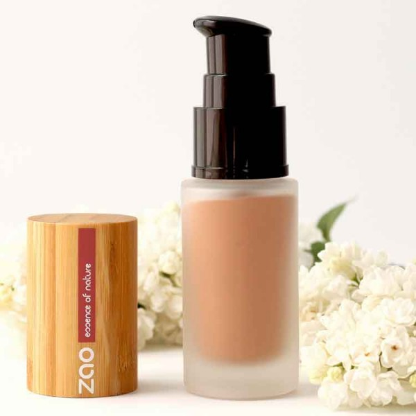 Fluid foundation zao light sand - Natural - Organic Cosmetics Make Up Foundation Organic Make Up - Beauty Products